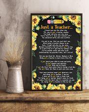 Just a teacher 11x17 Poster lifestyle-poster-3