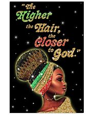 The higher the hair - Printed Poster 11x17 Poster front