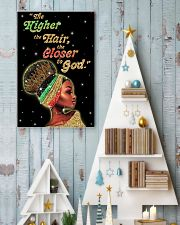 The higher the hair - Printed Poster 11x17 Poster lifestyle-holiday-poster-2