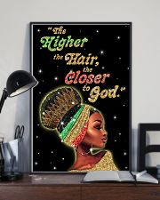 The higher the hair - Printed Poster 11x17 Poster lifestyle-poster-2