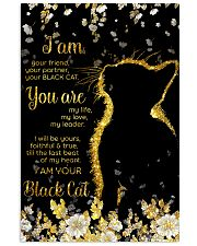 I am your friend your black cat 11x17 Poster front