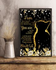 I am your friend your black cat 11x17 Poster lifestyle-poster-3