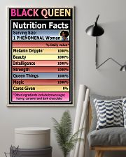 Black queen nutrition facts 11x17 Poster lifestyle-poster-1