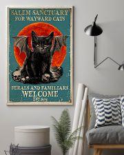 Salem sanctuary for wayward cats 11x17 Poster lifestyle-poster-1