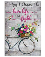 Today I choose to love- 3600 x 5400 11x17 Poster front