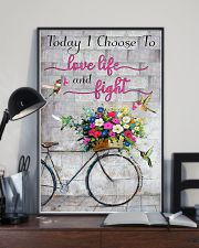 Today I choose to love- 3600 x 5400 11x17 Poster lifestyle-poster-2