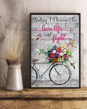 Today I choose to love- 3600 x 5400 11x17 Poster lifestyle-poster-3