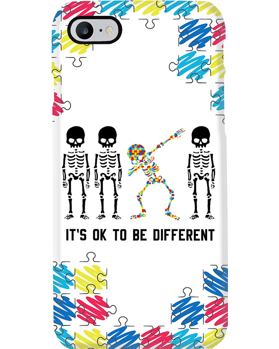It's ok to be different Halloween Phone Case