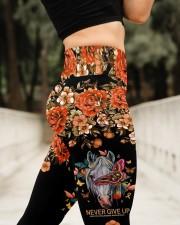 Never Give Up High Waist Leggings aos-high-waist-leggings-lifestyle-11