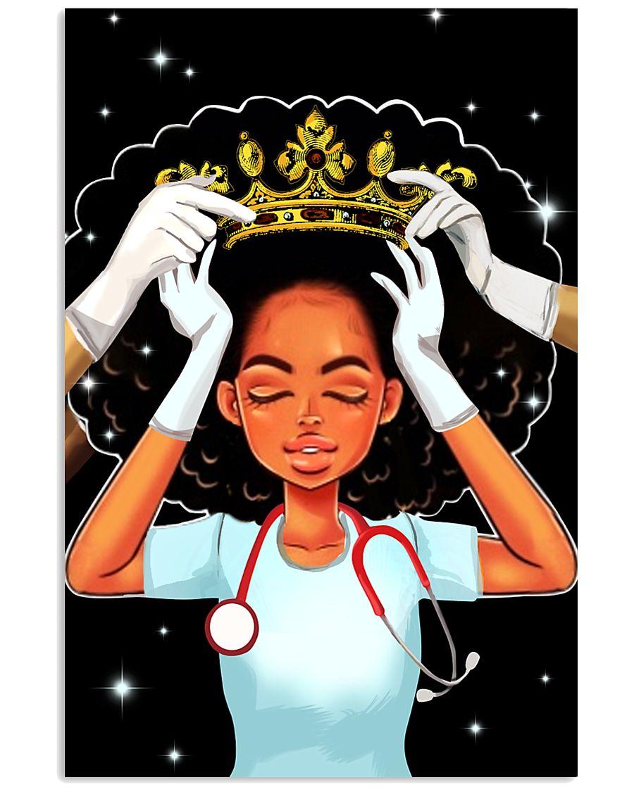 Black queen nurse 11x17 Poster