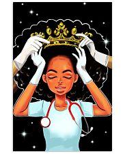 Black queen nurse 11x17 Poster front