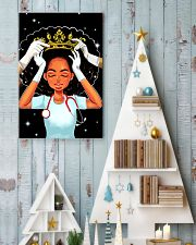 Black queen nurse 11x17 Poster lifestyle-holiday-poster-2