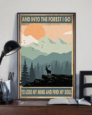 And into the forest I go 11x17 Poster lifestyle-poster-2