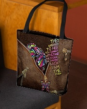 I am the storm Leather pattern print All-over Tote aos-all-over-tote-lifestyle-front-02