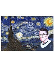 Starry RBG 17x11 Poster front