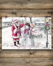 All I Wish For Christmas Is A Cure 17x11 Poster poster-landscape-17x11-lifestyle-14