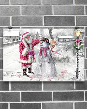 All I Wish For Christmas Is A Cure 17x11 Poster poster-landscape-17x11-lifestyle-18