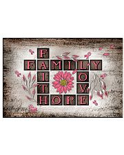 Faith hope love 17x11 Poster front