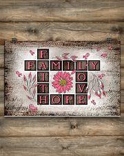 Faith hope love 17x11 Poster poster-landscape-17x11-lifestyle-14
