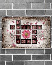 Faith hope love 17x11 Poster poster-landscape-17x11-lifestyle-18