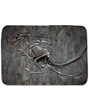 Dinosaur Fossil Metal Pattern Printed  Bath Mat tile