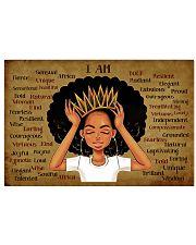 Black queen 17x11 Poster front