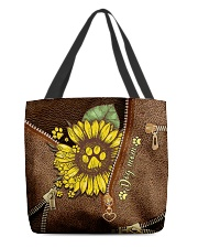 Dog mom All-over Tote front