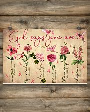 God says you are 17x11 Poster poster-landscape-17x11-lifestyle-14