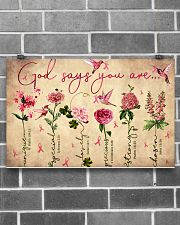 God says you are 17x11 Poster poster-landscape-17x11-lifestyle-18