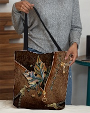 Autumn vibe All-over Tote aos-all-over-tote-lifestyle-front-10
