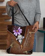 I'll Remember For You Leather Pattern Print All-over Tote aos-all-over-tote-lifestyle-front-10