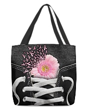 Never give up All-over Tote back