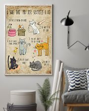 Six signs that you are secretly a cat 11x17 Poster lifestyle-poster-1