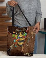 Bee kind All-over Tote aos-all-over-tote-lifestyle-front-10