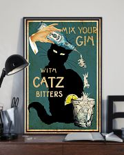 Mix Your Gin with Catz Bitters 11x17 Poster lifestyle-poster-2