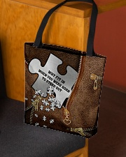 Why fit in when you were born to stand out All-over Tote aos-all-over-tote-lifestyle-front-02