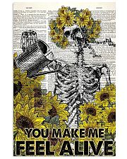You make me feel alive 11x17 Poster front