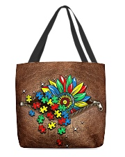 Autism awareness All-over Tote front