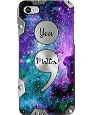 You matter - Printed phone case Phone Case i-phone-8-case