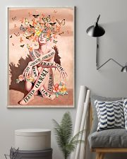 Never give up 11x17 Poster lifestyle-poster-1