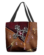 Pray for a cure All-over Tote back