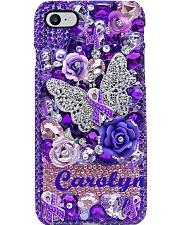 Fibromyalgia Awareness Phone Case i-phone-8-case