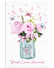 Faith Hope Cure 11x17 Poster front