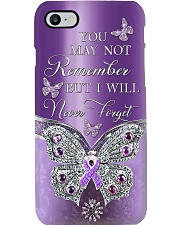 You May Not Remember Metal Pattern Print  Phone Case i-phone-8-case