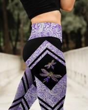 I will remember for you  High Waist Leggings aos-high-waist-leggings-lifestyle-11