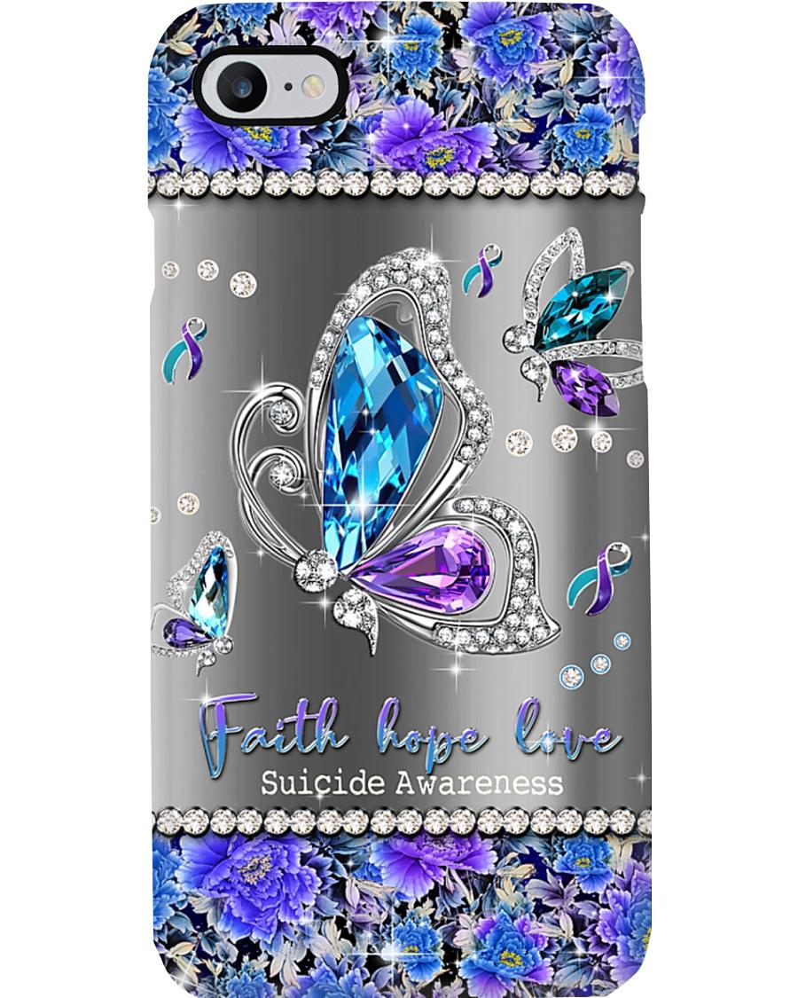 Faith hope love Phone Case
