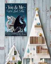 You and me we got this  11x17 Poster lifestyle-holiday-poster-2