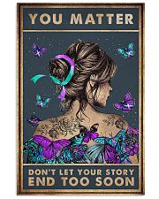 You matter 11x17 Poster front