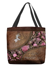Country Girl Leather Pattern Print All-over Tote front