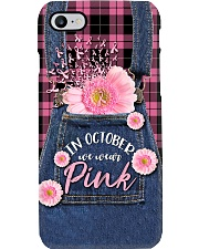 In October we wear Pink Phone Case i-phone-8-case
